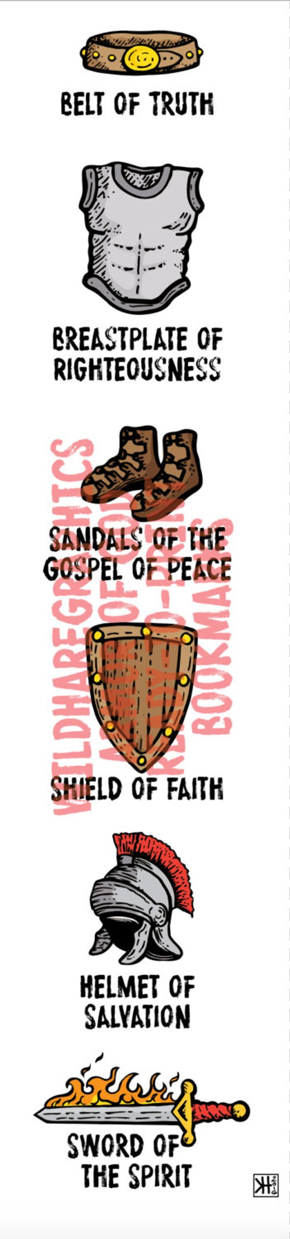 cowboy boot vases wholesale of armor of god ready to print bookmarks etsy for image 0 a—…