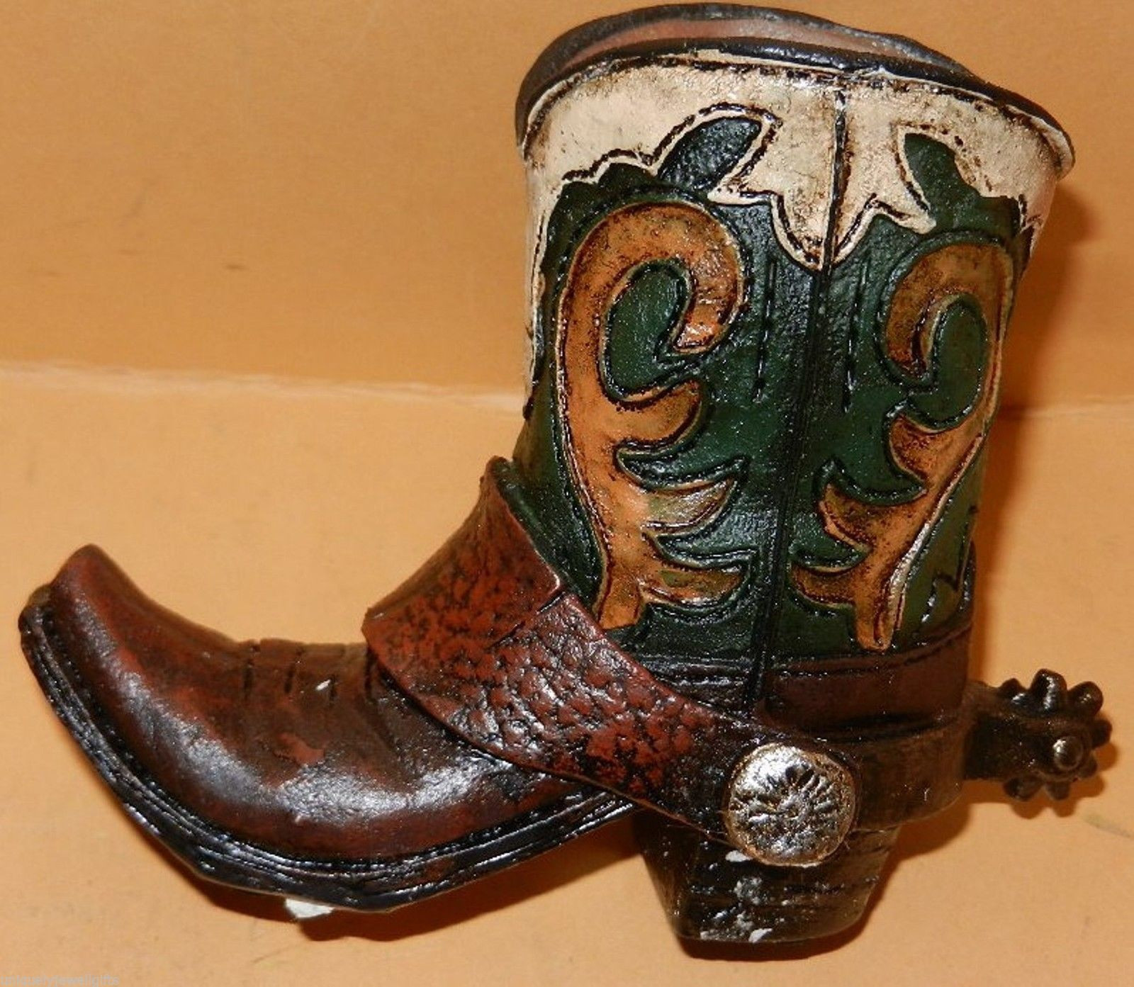 cowboy boot vases wholesale of cowboy boot pen holder www topsimages com inside western resin cowboy boot collectible plant pen pencil holder green jpg 1600x1393 cowboy boot pen holder