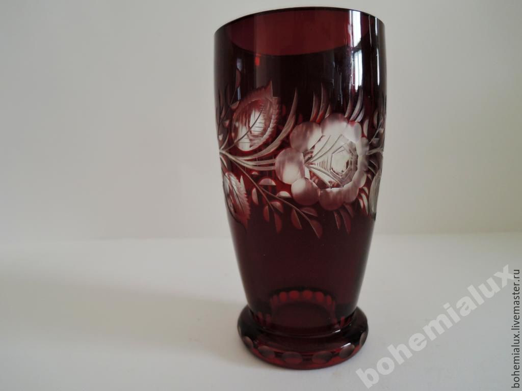 cracked glass vase of vase cup red double layer glass engraving meyrs neffe shop online for vintage interior decor livemaster handmade buy vase cup red double layer glass engraving