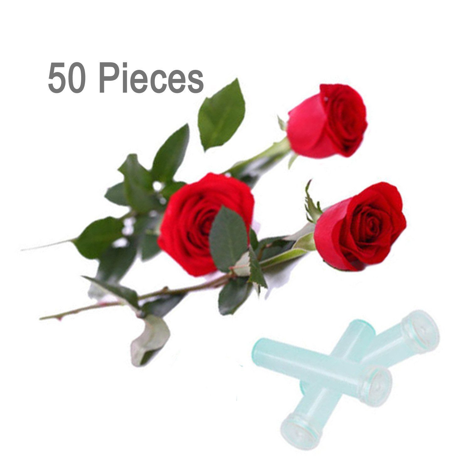 creative vase fillers of lieomo 3 50pcs clear floral water standard tubes vials with caps with regard to explore vase fillers flower arrangements and more