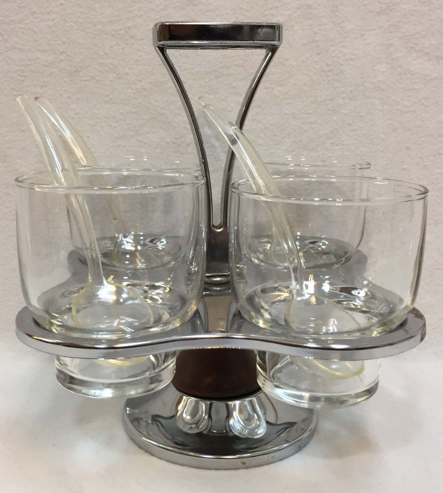 cristal d arques lead crystal vase of vintage etched cordial or apertif shot glasses by allthing for condiment caddy carousel 4 glass cups spoons chrome metal wood relish dish