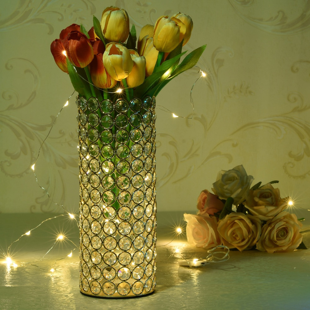 crystal beaded vase of 2018 vincigant crystal cylinder vases candle holders for home throughout elegant unique designbeautifully fashioned in trendy lofty cylinder shape this bedazzling beaded crystal vase features rows and rows of glinting beaded