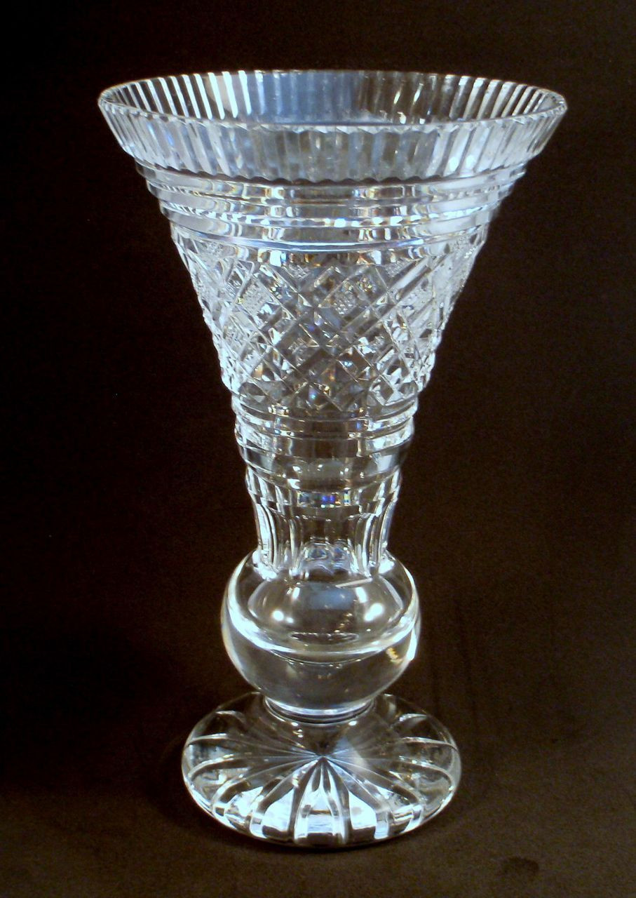 Crystal Clear Vase Of Collectible Glass Vases Images Antique Glass Living Room Crystal Regarding Collectible Glass Vases Gallery Waterford Crystal Signed Trumpet Vase From Charmed Life Of Collectible Glass Vases