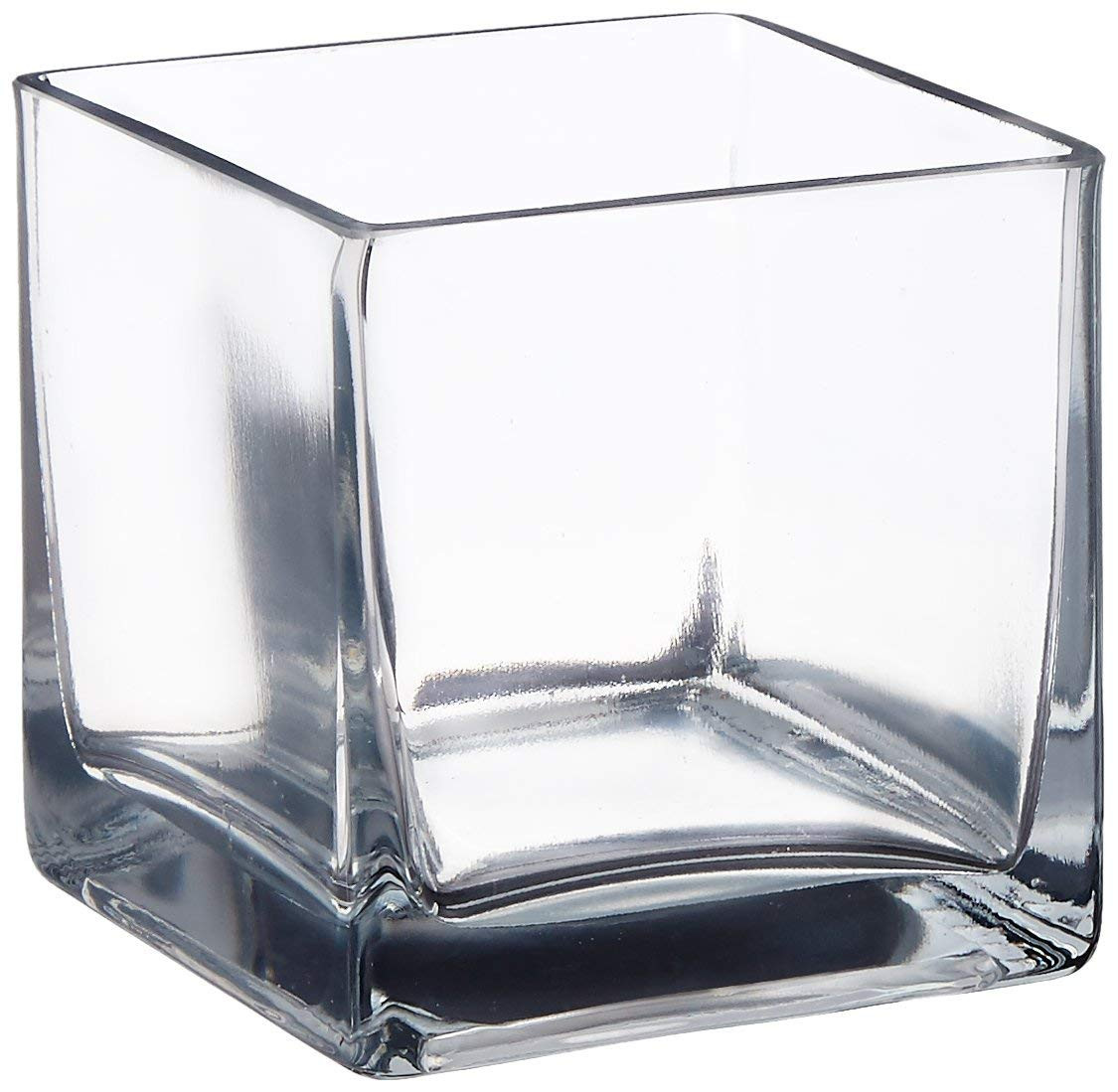 cube glass vase 6x6x6 of amazon com vasefill 4 square glass vase 4 clear cube centerpiece for amazon com vasefill 4 square glass vase 4 clear cube centerpiece 4 l x 4 w x 4 h candleholder home kitchen