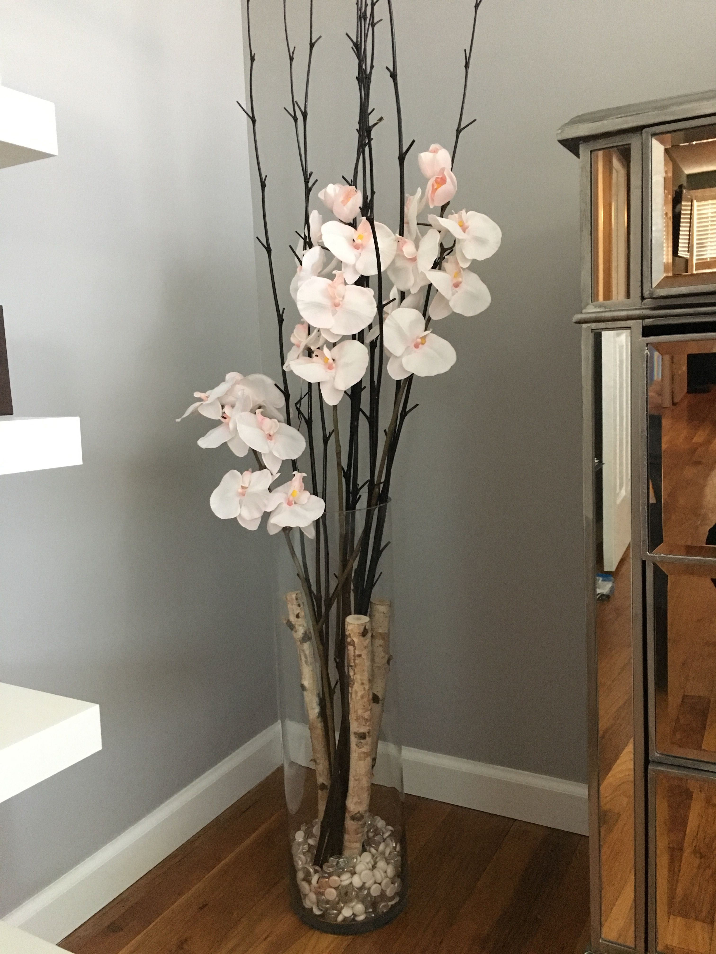 cube glass vase 6x6x6 of vases artificial plants collection with tall floor vase with branches stock orchid flower floor vase crafty diy decor of tall floor vase with branches