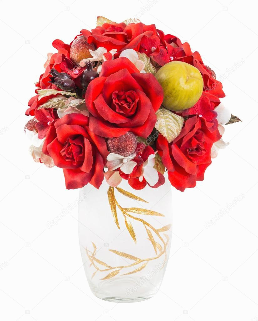 Cut Crystal Bud Vase Of Best Of Bouquet Od Red Roses and Berry In Glass Vase Stock Regarding Best Of Bouquet Od Red Roses and Berry In Glass Vase Stock A Smuayc Of