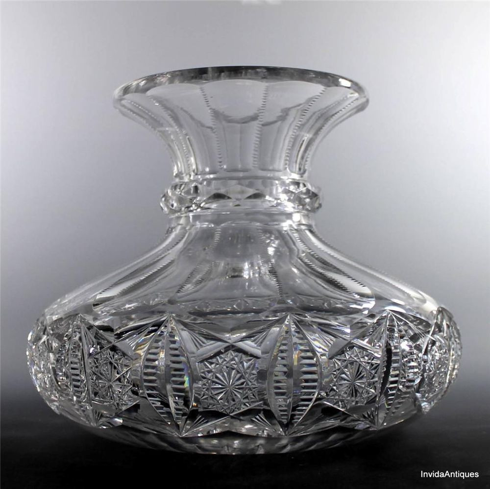 22 Amazing Cut Crystal Flower Vase