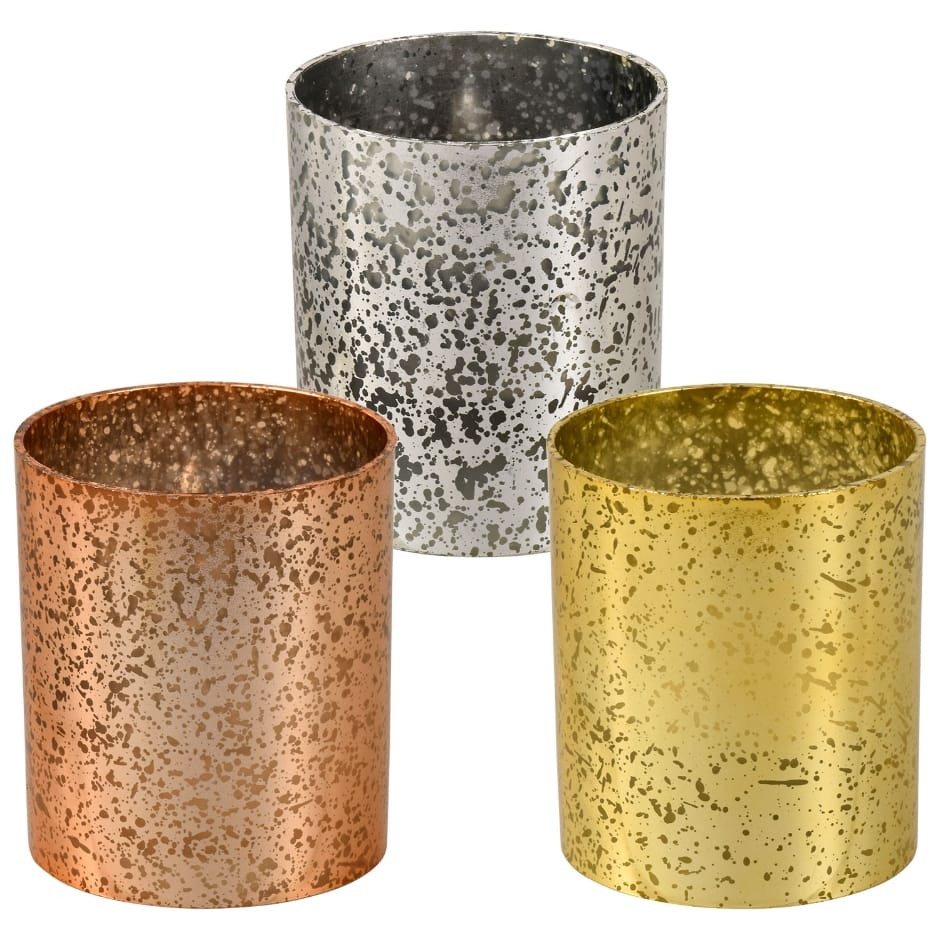cylinder floating candle vase set of 36 of table decorations dollar tree inc throughout luminessence metallic led votive candles