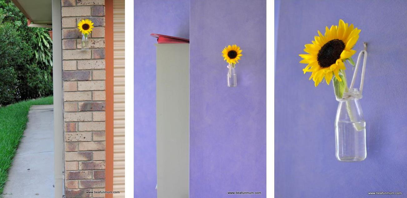 cylindrical glass vase of wall vases for flowers wall ideas throughout diy stunningly simply hanging wall vase be a fun mum