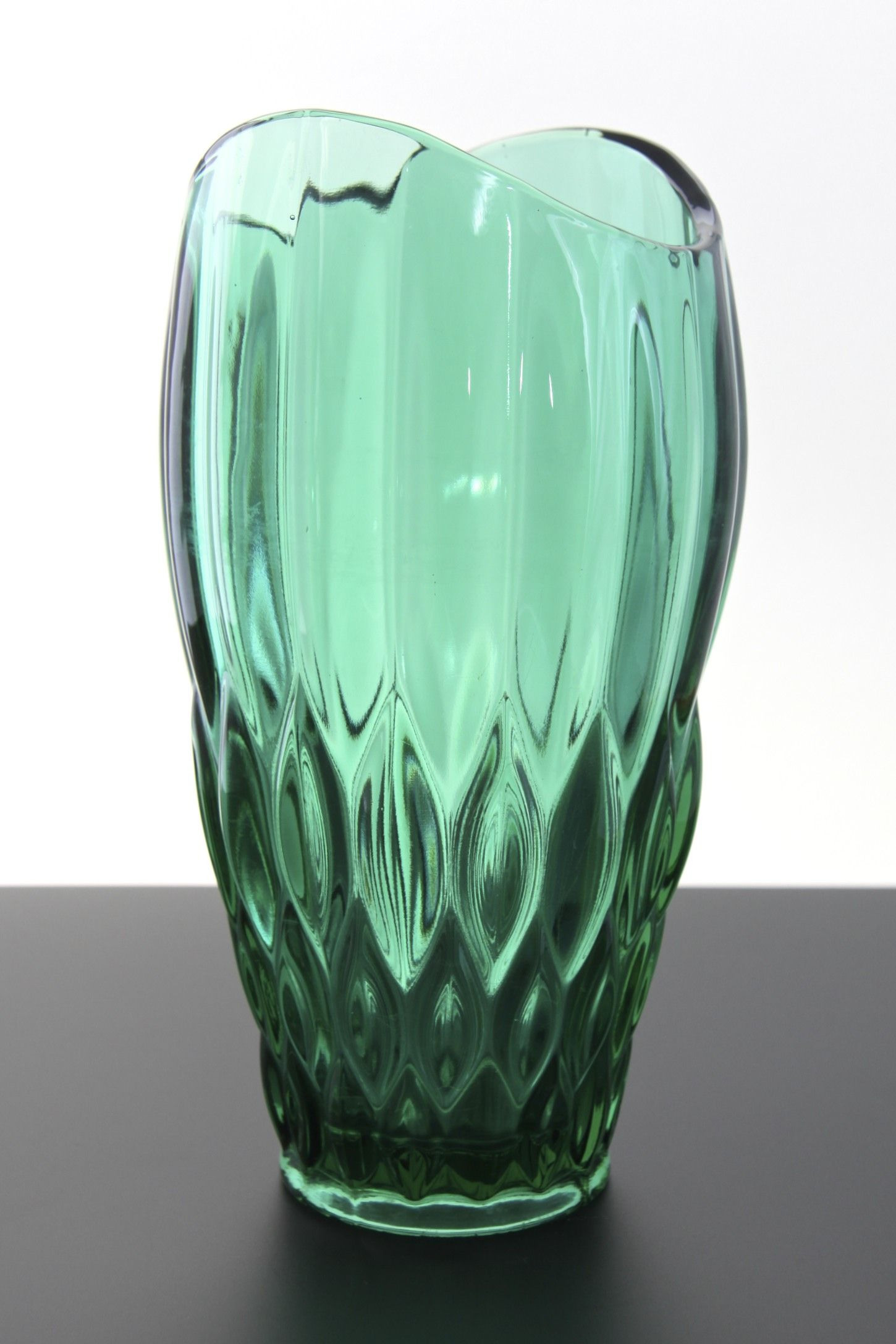 Czech Glass Vase Of Rudolfova1 1450a—2176 Szka'o Pinterest within Explore Green Vase Decorative Glass and More