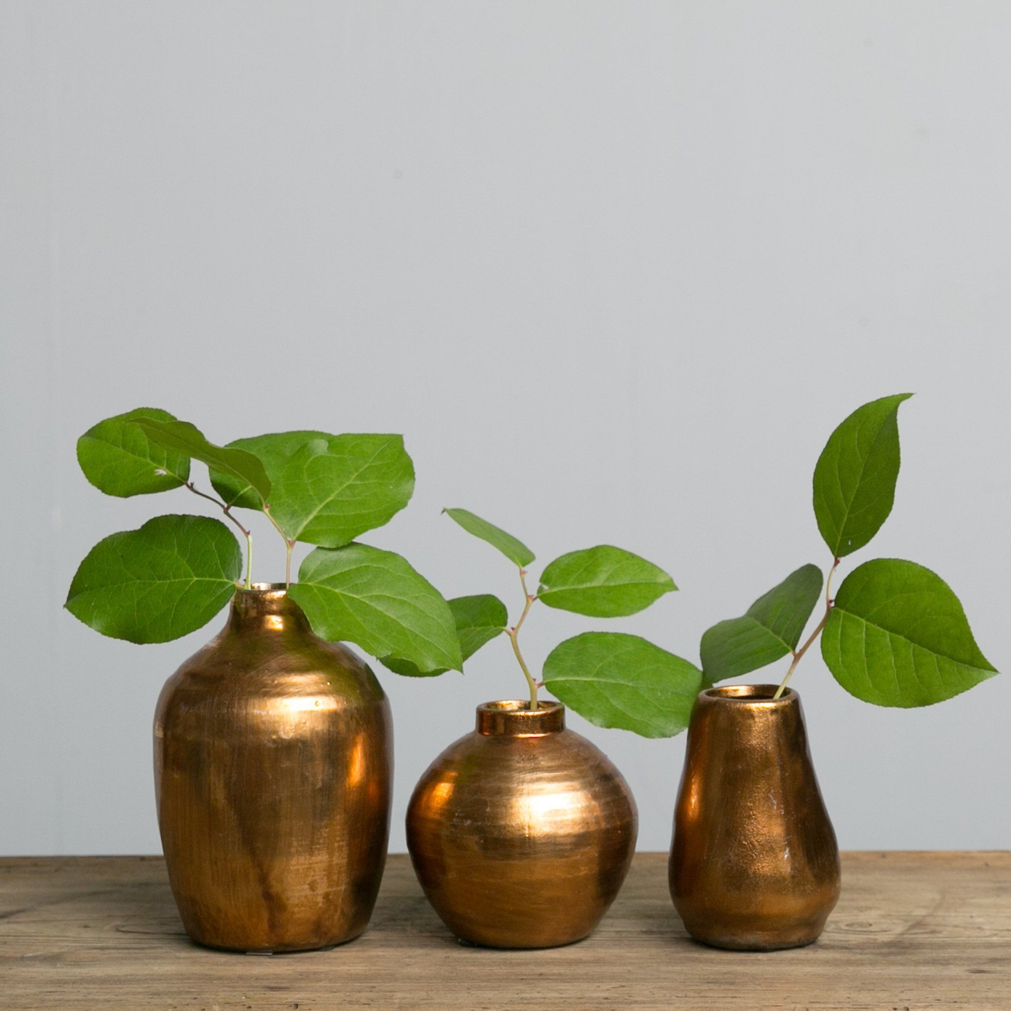 Danya B Vases Of 30 Copper Flower Vase the Weekly World within Elizabeth Copper Vase