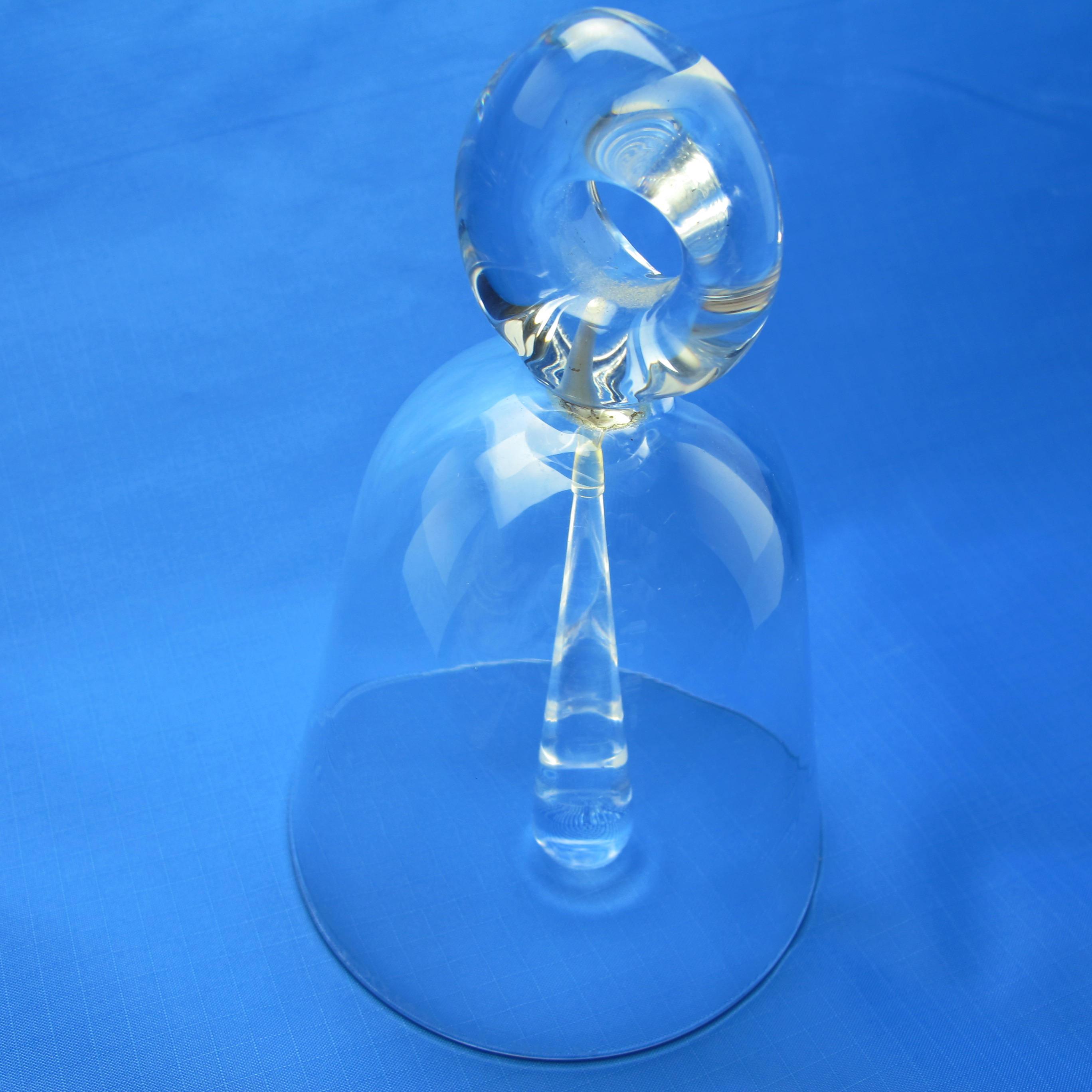 "daum crystal vase of vintage signed daum crystal bell made in france signed daum etsy with regard to dŸ""Žpowia™ksz"