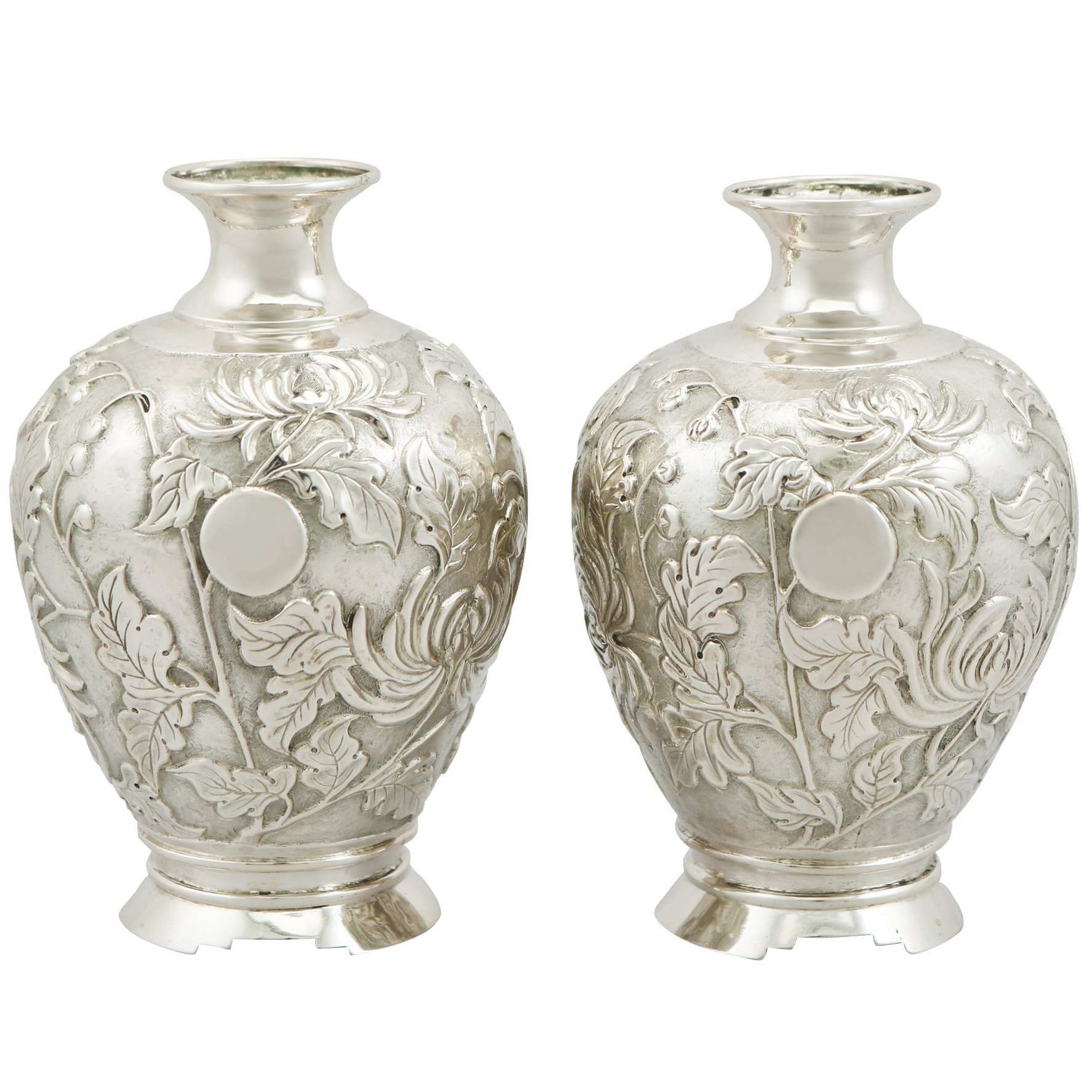 Daum Nancy Vase for Sale Of Achaemenid Revival Repoussa Silver Vase Persia Circa 1900 for Sale In Achaemenid Revival Repoussa Silver Vase Persia Circa 1900 for Sale at 1stdibs
