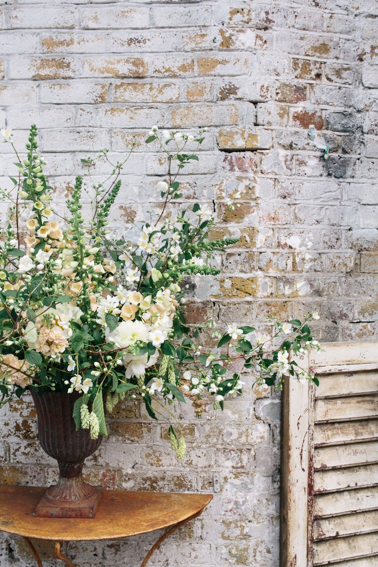 Debi Lilly Design Illusion Vases Of 27 Best Florals and Decor Images On Pinterest Wedding Bouquets Throughout Statement Wedding Flowers Including Foxgloves Against A Beautiful Crumbling White Wall at Mc Motors event