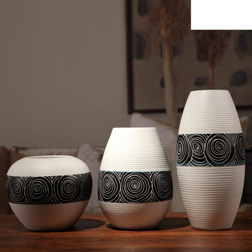 Decorative Modern Vases Of Modern Minimalist Ceramics the Vase Living Room Home Decor Crafts with Modern Minimalist Ceramics the Vase Living Room Home Decor Crafts Decoration D