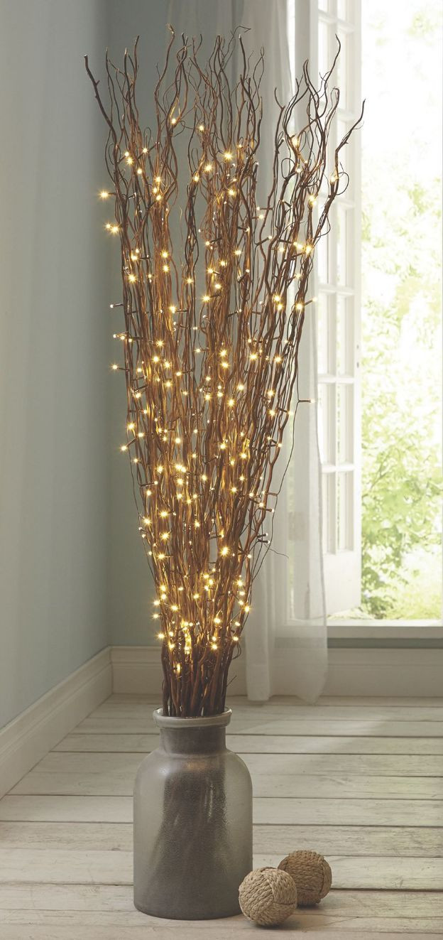 decorative sticks for vases india of 641 best home decor images on pinterest decorative accessories throughout fill a substantial floor vase with a tall arrangement of led branches its another beautiful