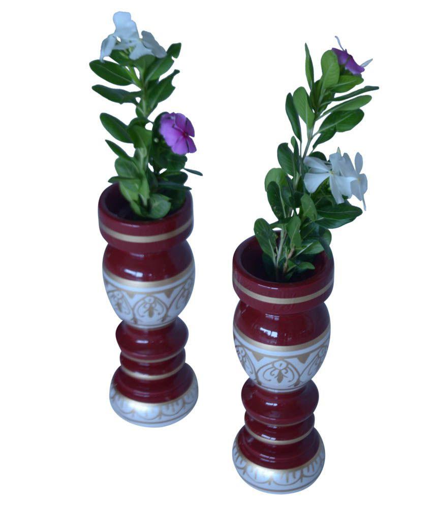 decorative sticks for vases india of hastakala bazaar vase pair wooden flower home decor gift item throughout hastakala bazaar vase pair wooden flower home decor gift item showcase