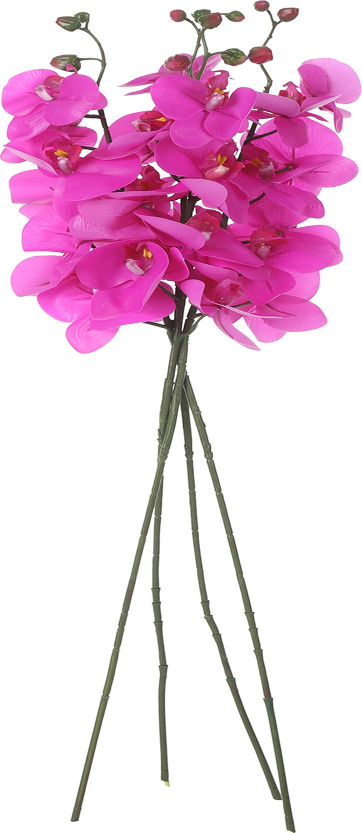 decorative sticks for vases india of uberlyfe real touch purple orchids artificial flower price in india for share