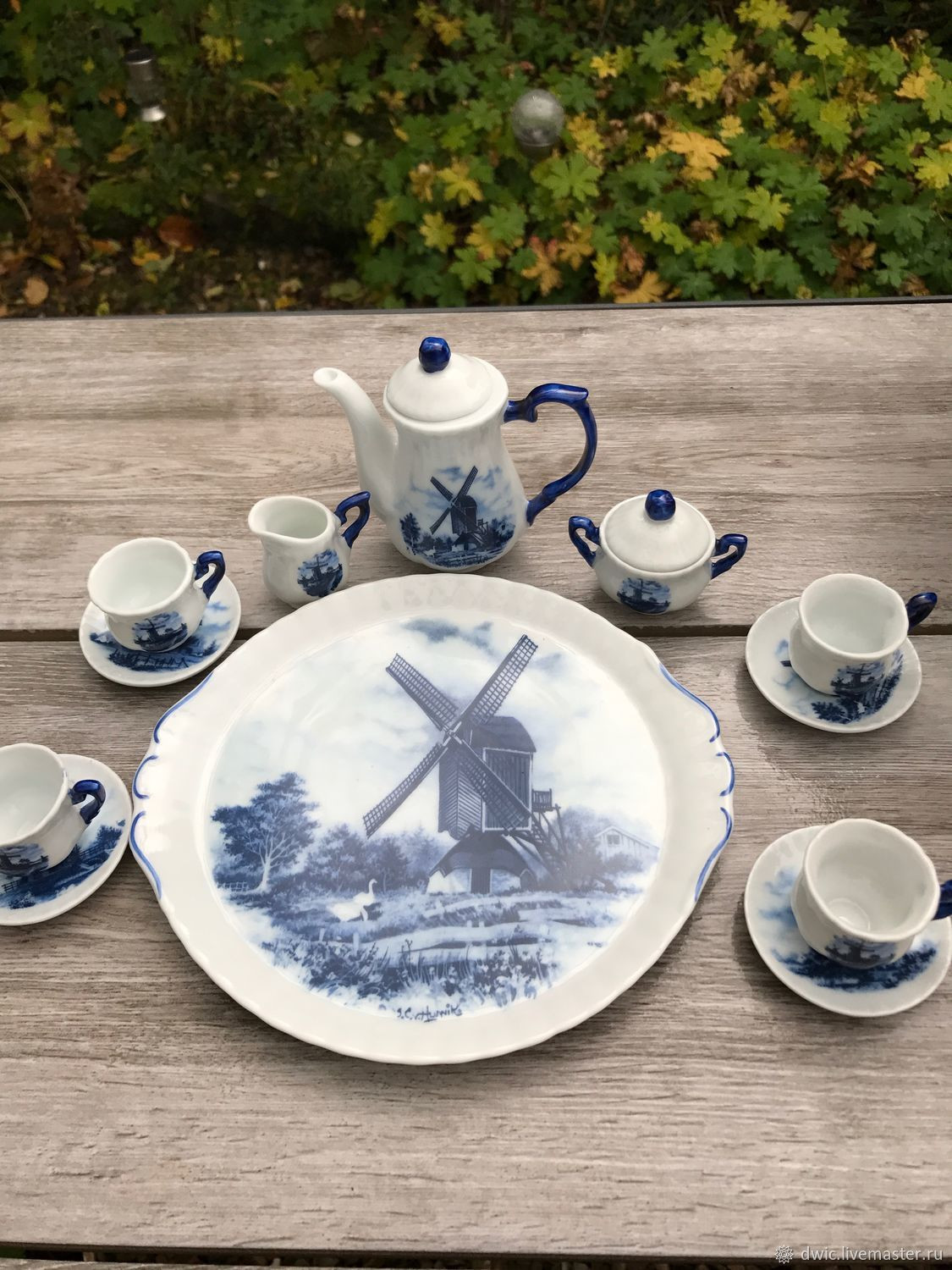 delft blue vase of childrens tea set handcrafted mill delft the netherlands pertaining to childrens tea set handcrafted mill delft