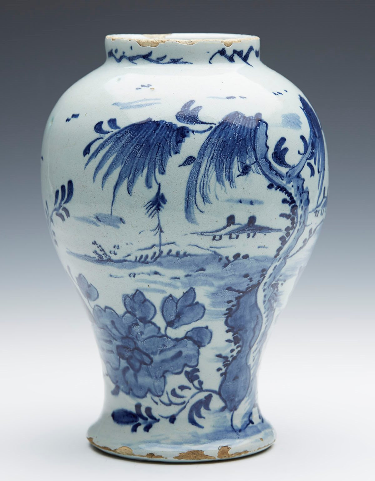 delft vase value of antique delft chinoiserie design blue white vase 18th c ebay in the age and authenticity of the piece and we are always happy to provide additional information if required we also offer a 7 day return policy however