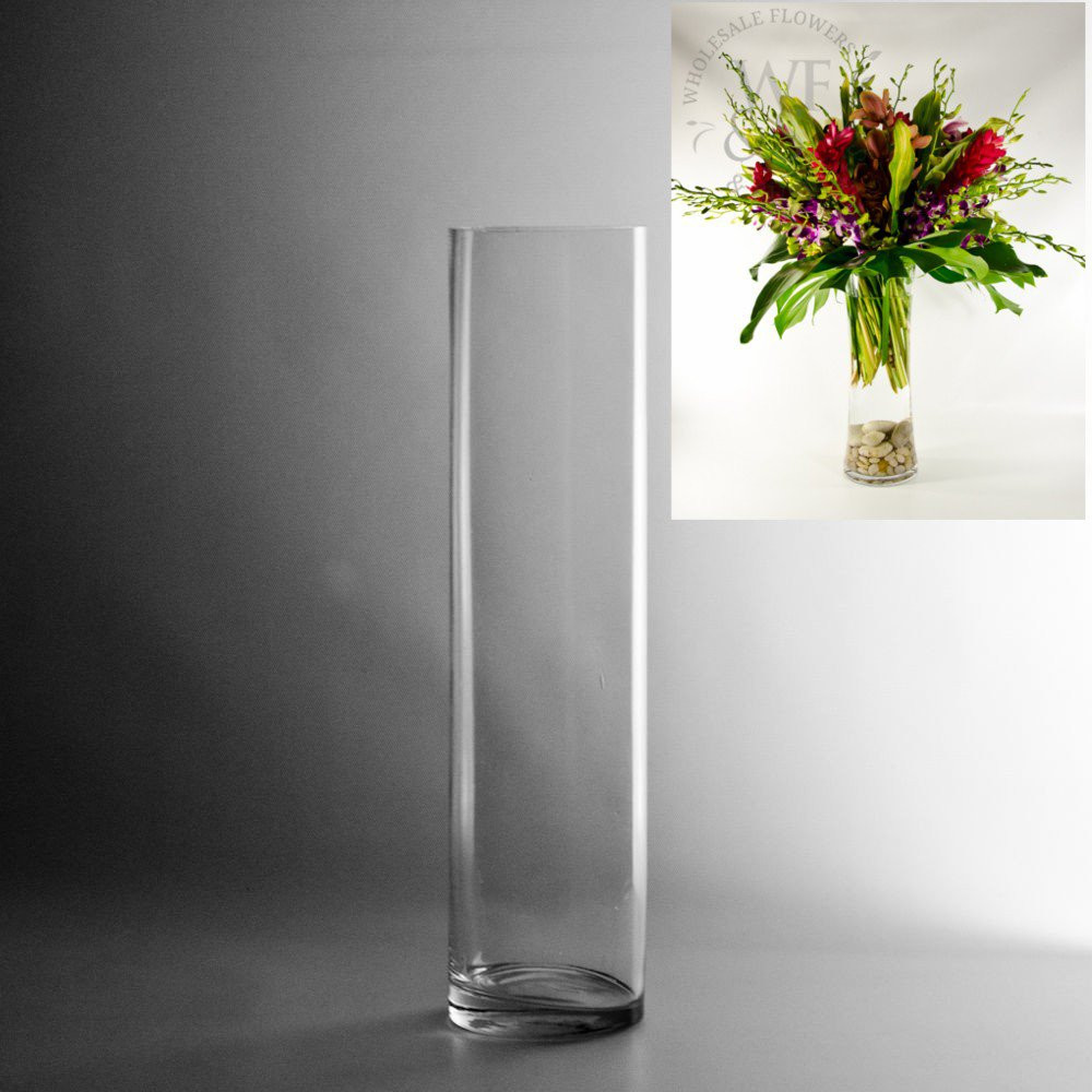 Discount Clear Vases Of Gl Flower Bud Vases Flowers Healthy In Vases Designs Tall Cylinder whole 30 Inch Gl