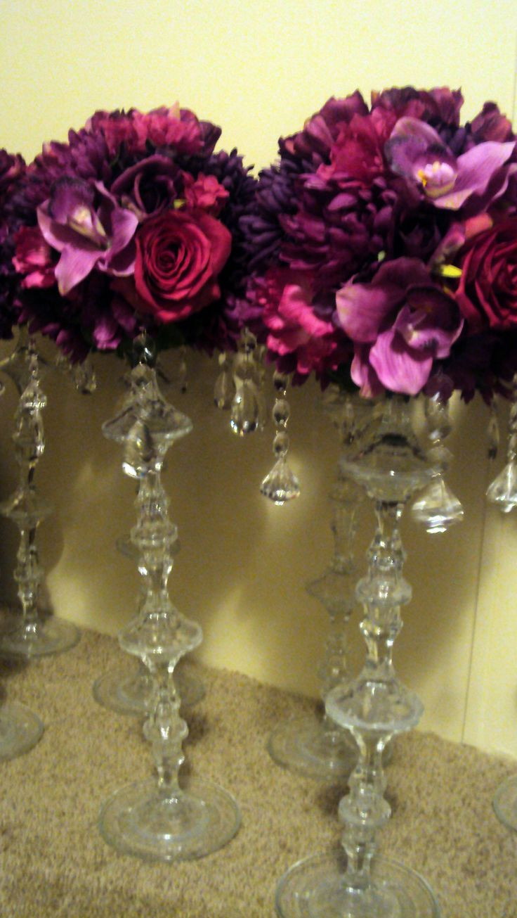 dollar glass cylinder vases of 102 best store inspiration images on pinterest dollar store for deep purples add in some glass dollar store candle holders stacked and glues with
