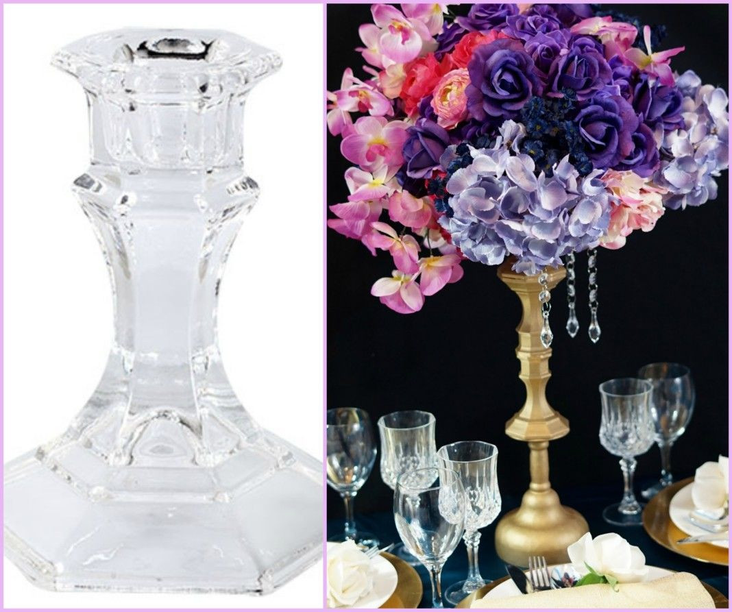 Dollar Tree Square Vases Of 14 Dollar Tree Money Saving Products for Your Wedding Centerpieces Throughout Dollar Tree Candleholder