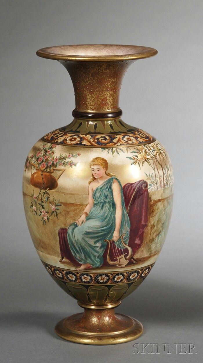 doulton burslem vase of 315 best royal doulton doulton lambeht images on pinterest royal with doulton burslem hand painted vase england