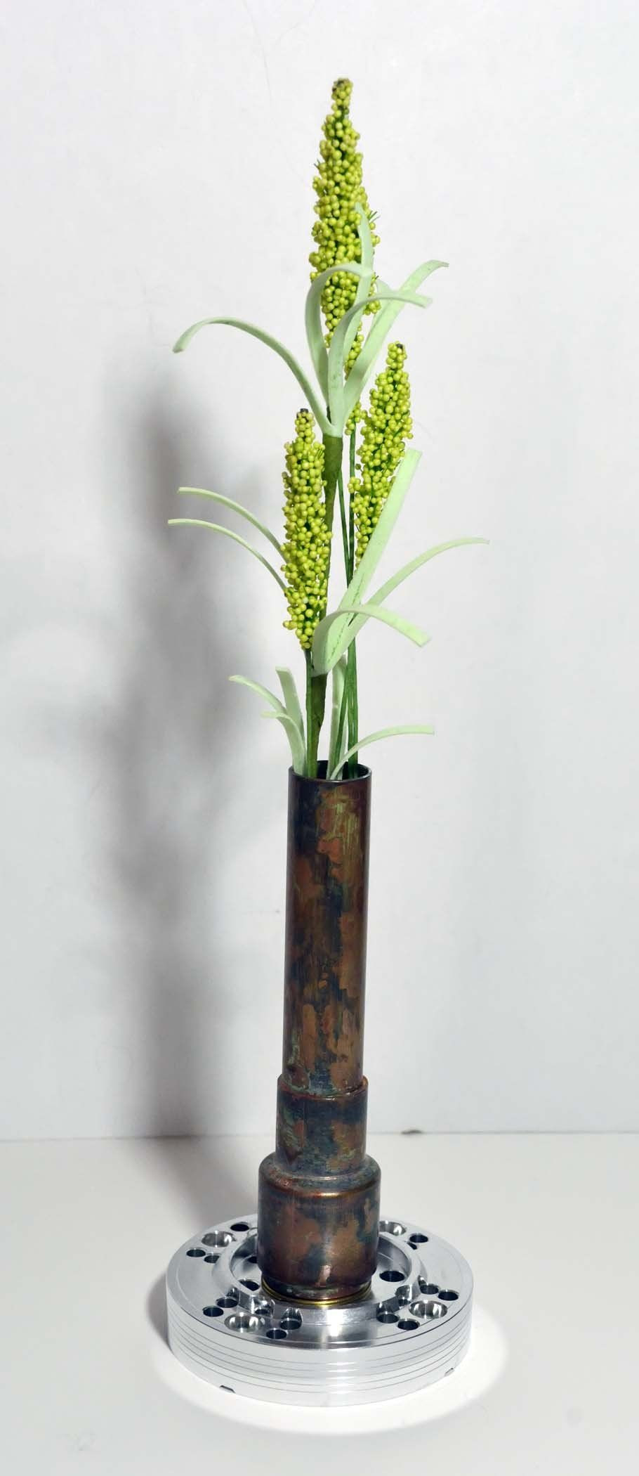 dried twigs for vases of steampunk style decorative dried bud vase made from recycled for beautiful unique dried bud or candle vase holder not to be used with water artificial flowers included