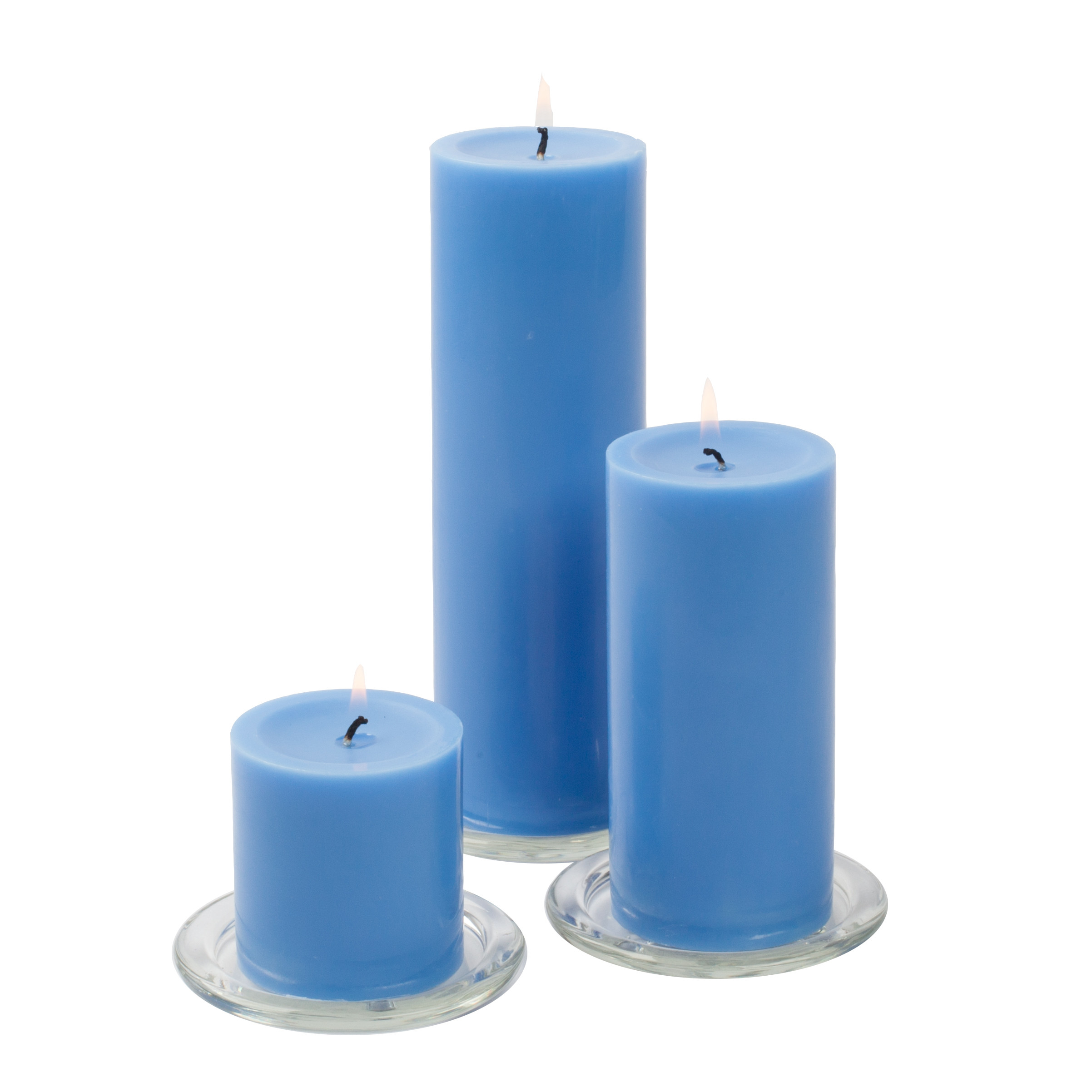 eastland glass cylinder vases set of 4 of eastland square holders richland pillar candles set of 3 quick with white a· ivory a· black a· lavender a· light blue