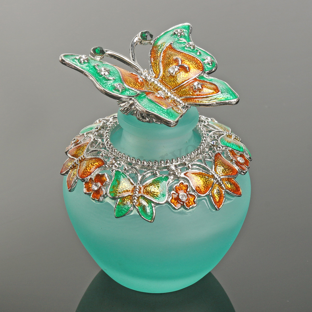Ebay Vases for Sale Of 40ml Diy Handmade Vintage Empty Crystal butterfly Glass Perfume Pertaining to Detail Image