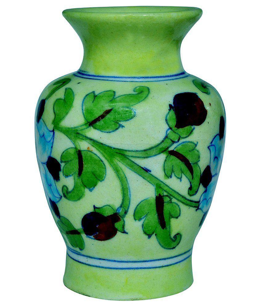 Ebay Vases for Sale Of Himalya Handicraft Green Ceramic Flower Vase Buy Himalya Handicraft In Himalya Handicraft Green Ceramic Flower Vase