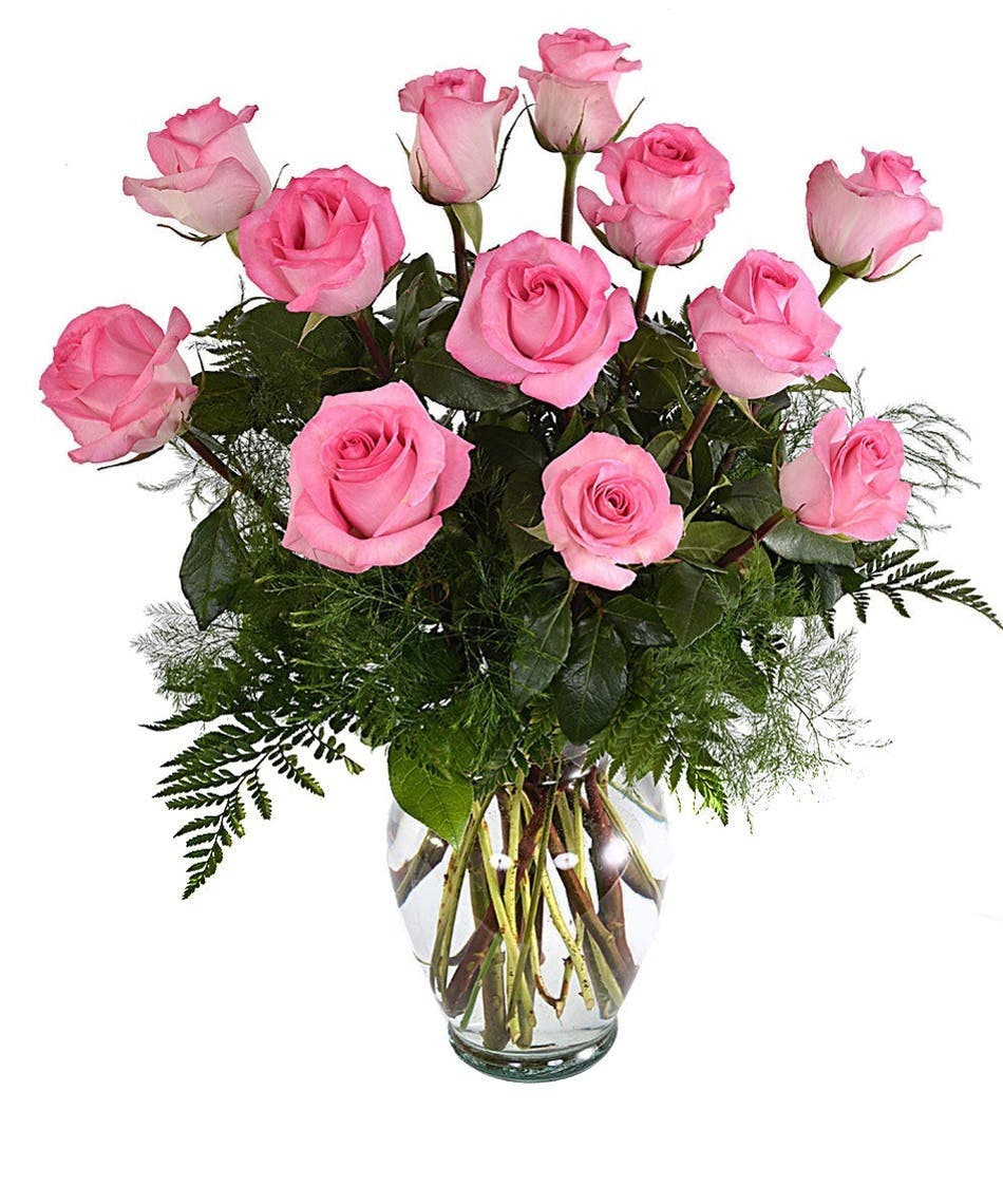 Empty Vase Boerne Of One Dozen Pink Roses San Antonio Florist Flower Delivery the with One Dozen Pink Roses San Antonio Florist Flower Delivery the Flower Bucket