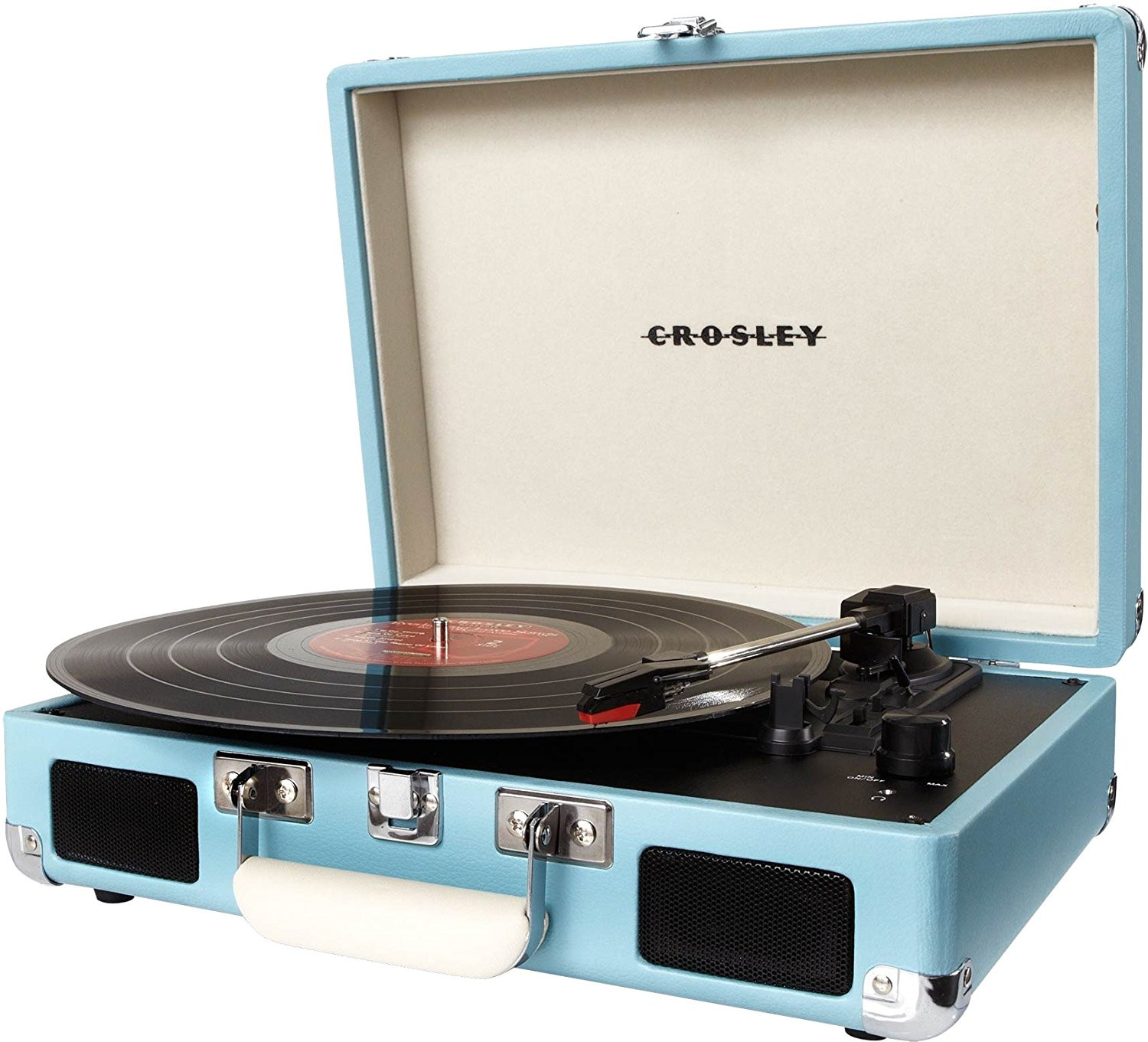empty vase closter of amazon com crosley cr8005a tu cruiser portable 3 speed turntable inside amazon com crosley cr8005a tu cruiser portable 3 speed turntable turquoise home audio theater