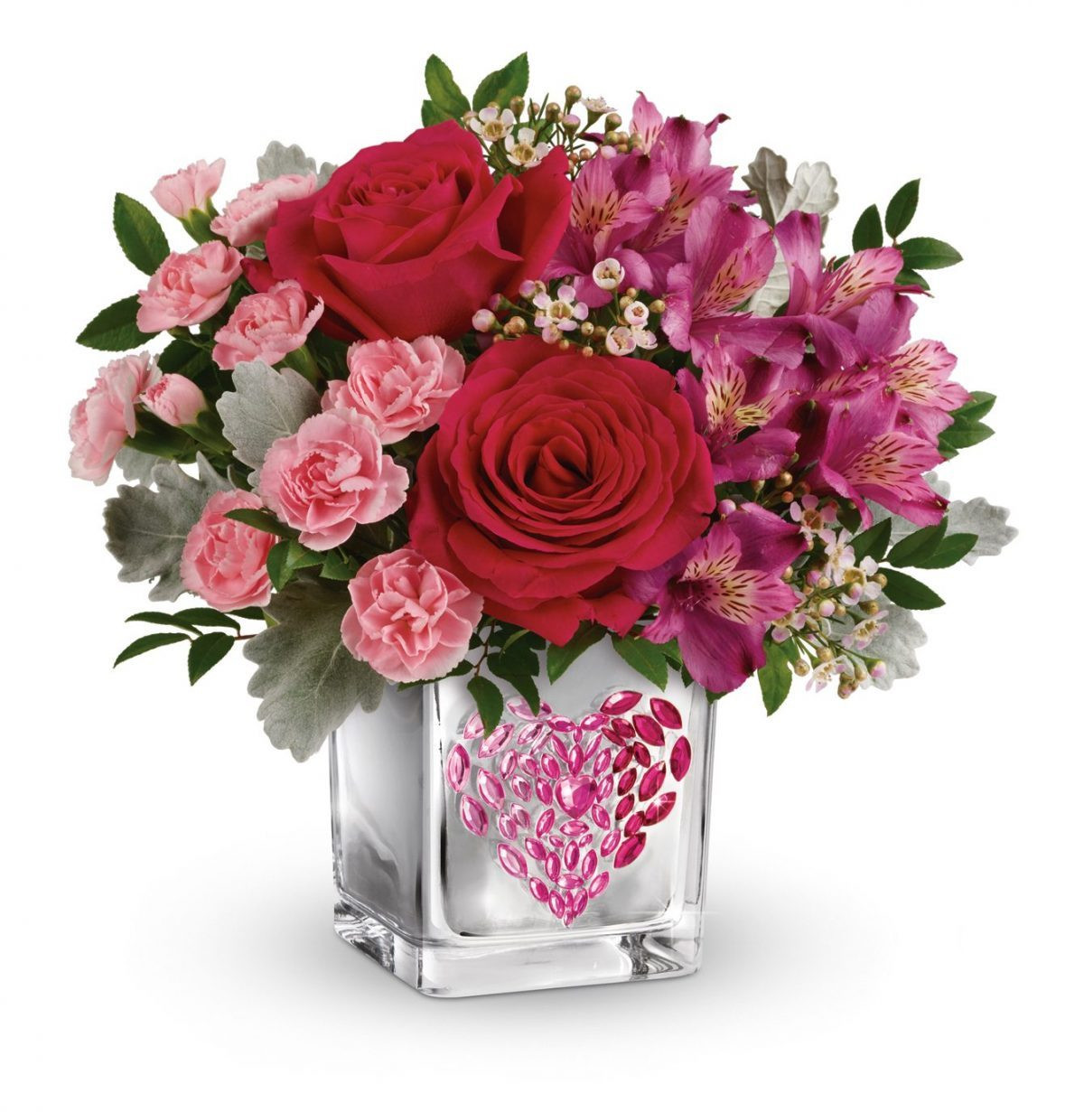 empty vase florist los angeles of celebrate with beautiful valentines flowers from teleflora with regard to young at heart bouquet