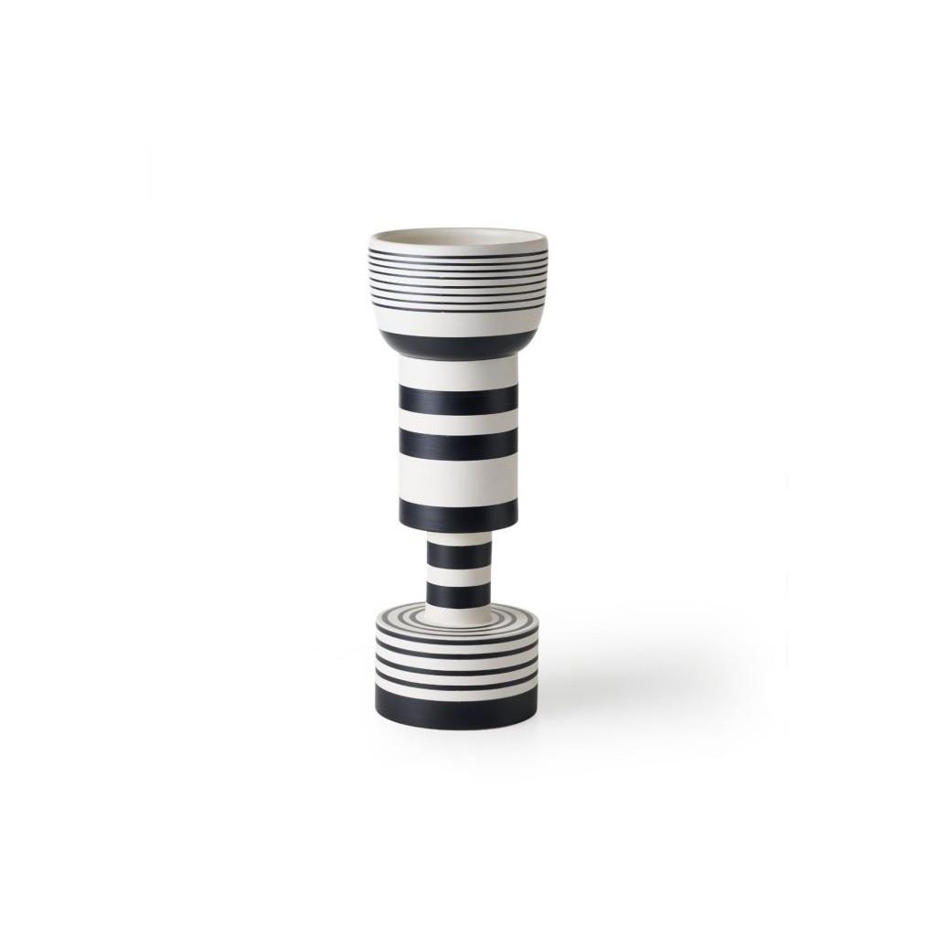 ettore sottsass vase of wazon ettore sottsass vase calice h47 bianco nero moaai intended for wazon ettore sottsass vase calice h47 bianco nero
