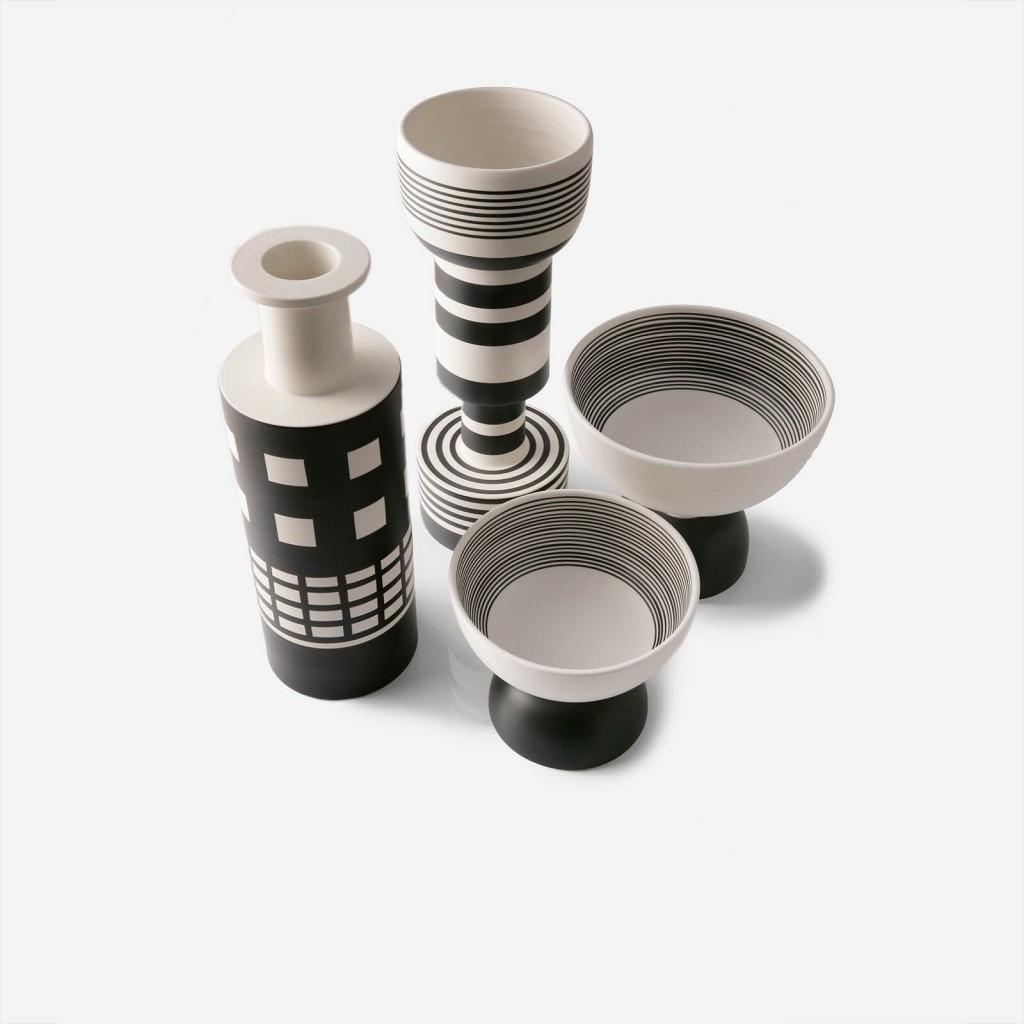 ettore sottsass vase of wazon ettore sottsass vase rocchetto h45 bianco nero moaai with wazon ettore sottsass vase rocchetto h45 bianco nero