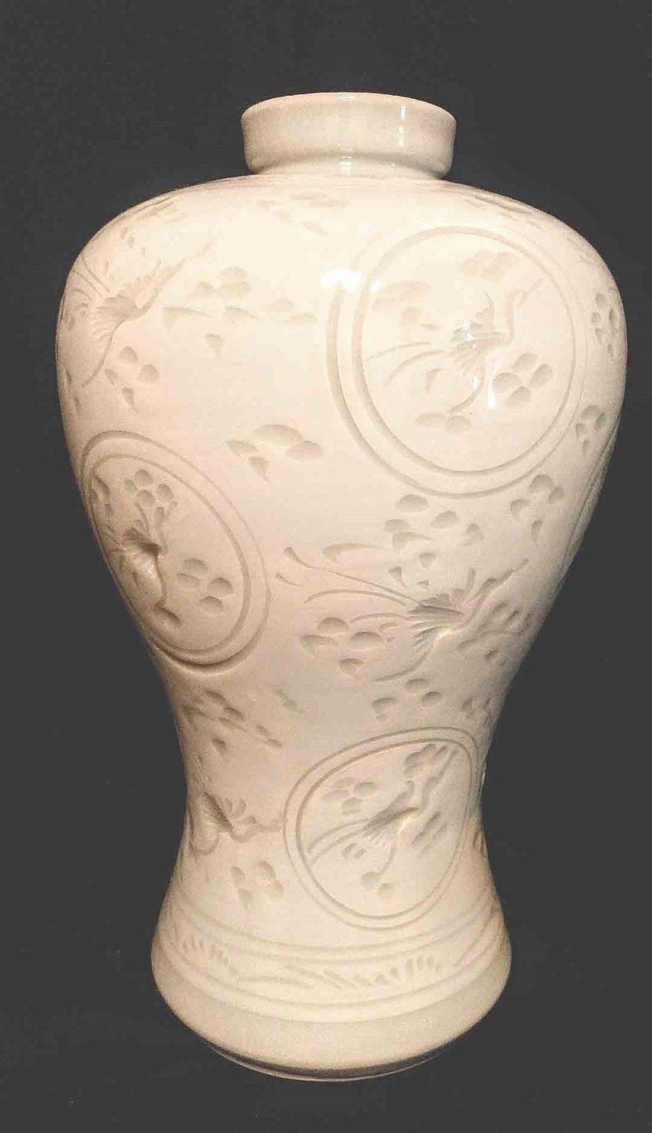 extra large ceramic vases of large collectible vtg korean incised celadon signed vase pottery pot with regard to large collectible vtg korean incised celadon signed vase pottery pot 1 of 6 see more