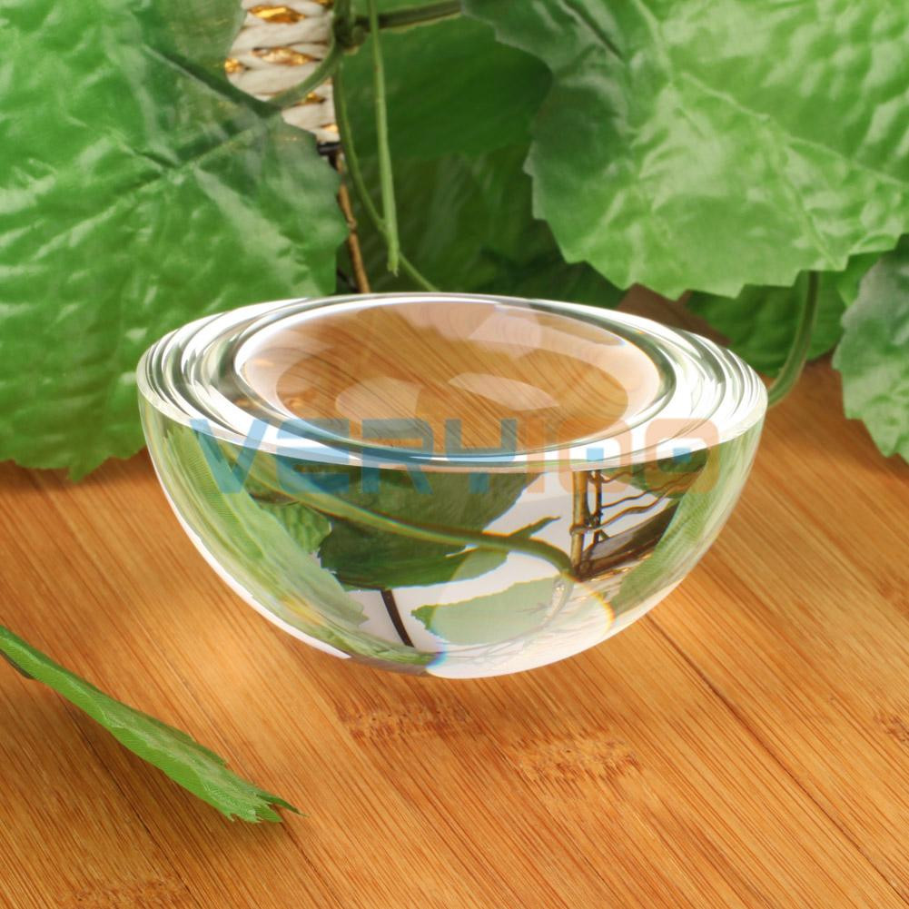 Faceted Glass Vase Of 90mm Big Half Sphere K9 Crystal Ball Paperweight Magnifying Glass In 90mm Big Half Sphere K9 Crystal Ball Paperweight Magnifying Glass Decoration Clear In Stones From Home Garden On Aliexpress Com Alibaba Group