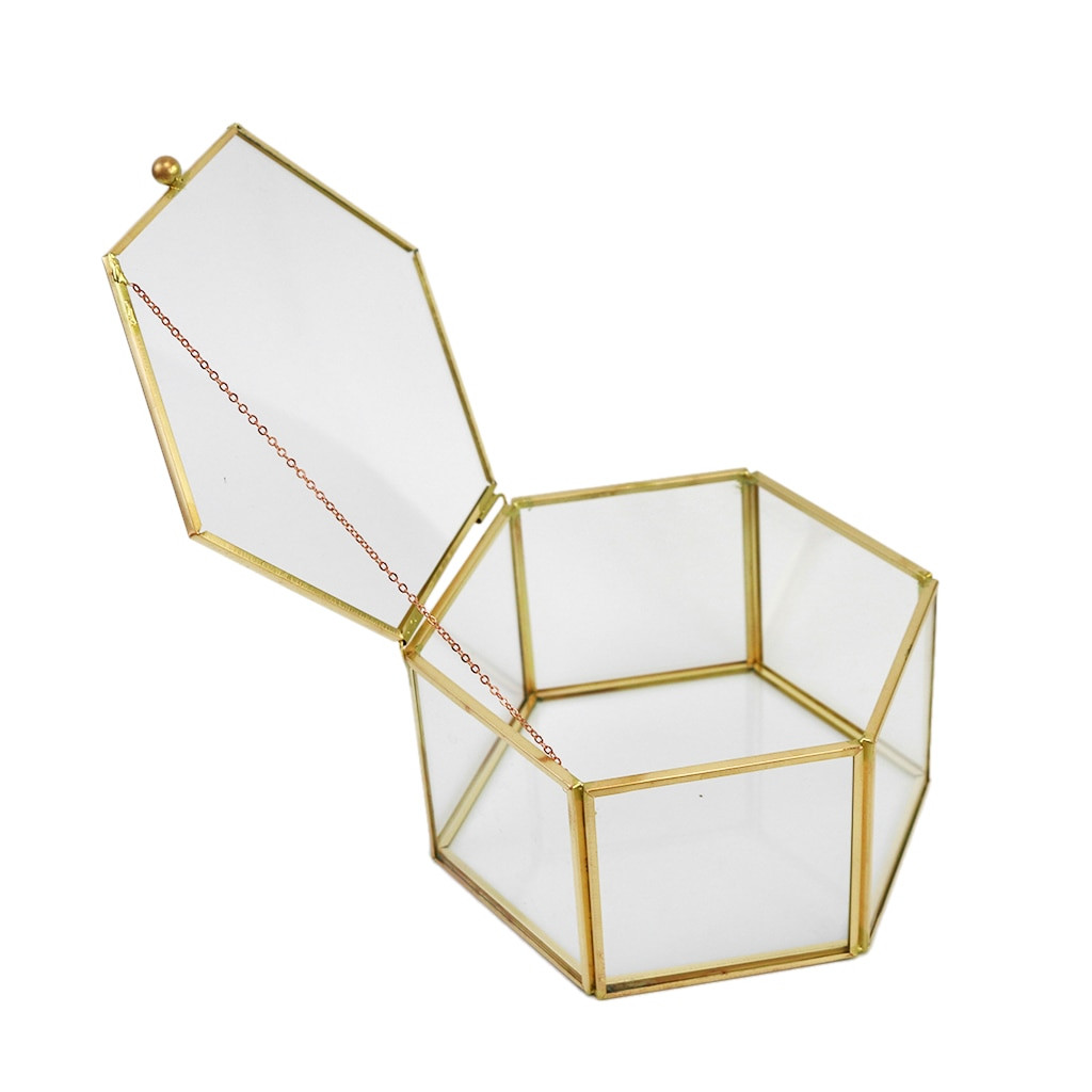 faceted glass vase of irregular glass geometric succulent planter vase box terrarium with irregular glass geometric succulent planter vase box terrarium container for home decoration gift