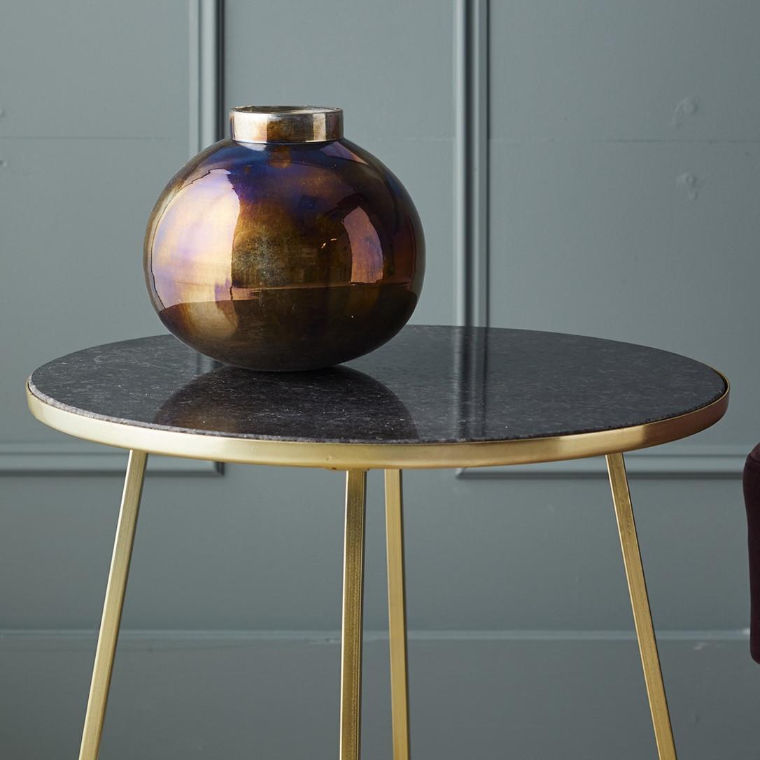 faceted glass vase of prezola jewel metallic round glass vase alico in jewel metallic round glass vase
