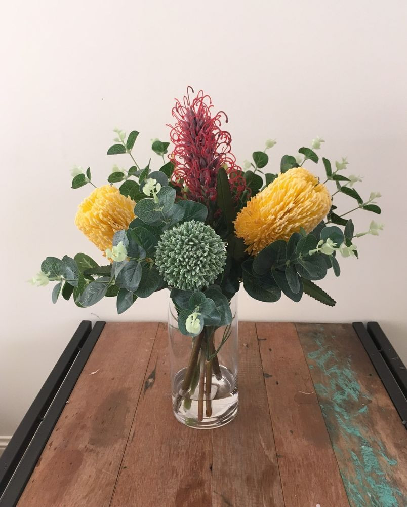 22 Awesome Fake Flowers In Clear Vase 2021 free download fake flowers in clear vase of banksia fake silk flower australian native w artificial water clear for banksia fake silk flower australian native w artificial water clear vase
