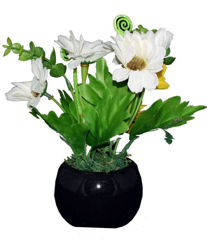 fake flowers in clear vase of skynet artificial flowers with pot multicolour artificial plants with skynet artificial flowers with pot multicolour artificial plants bunch plastic pack of 1