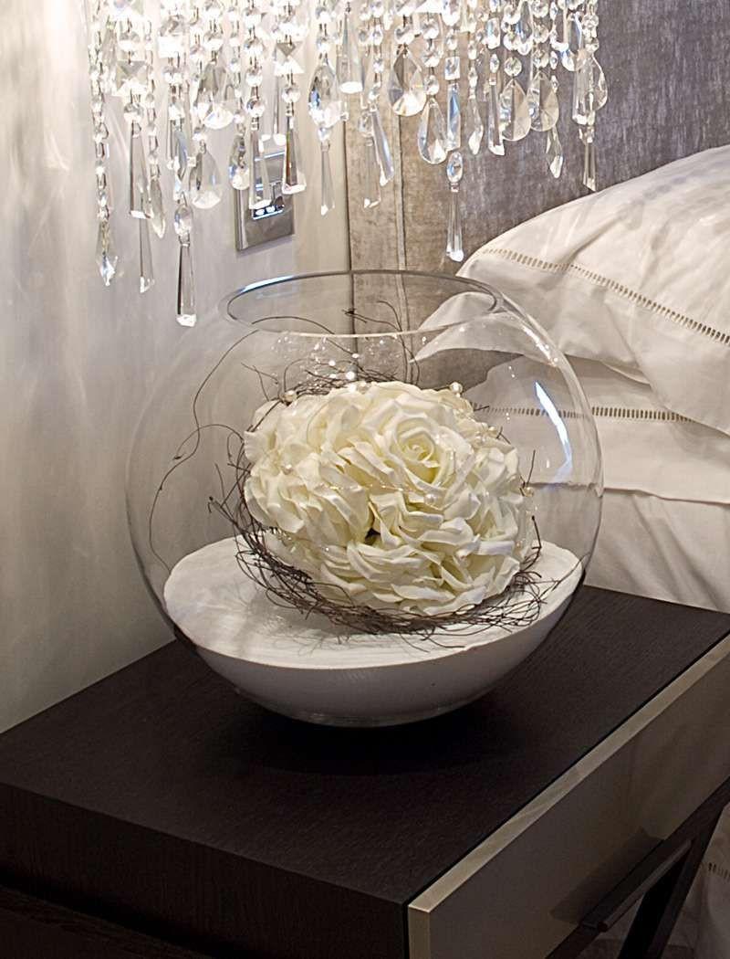 fake flowers in vase with fake water of artificial flowers in fishbowl vase vase pinterest flowers pertaining to artificial flowers in fishbowl vase