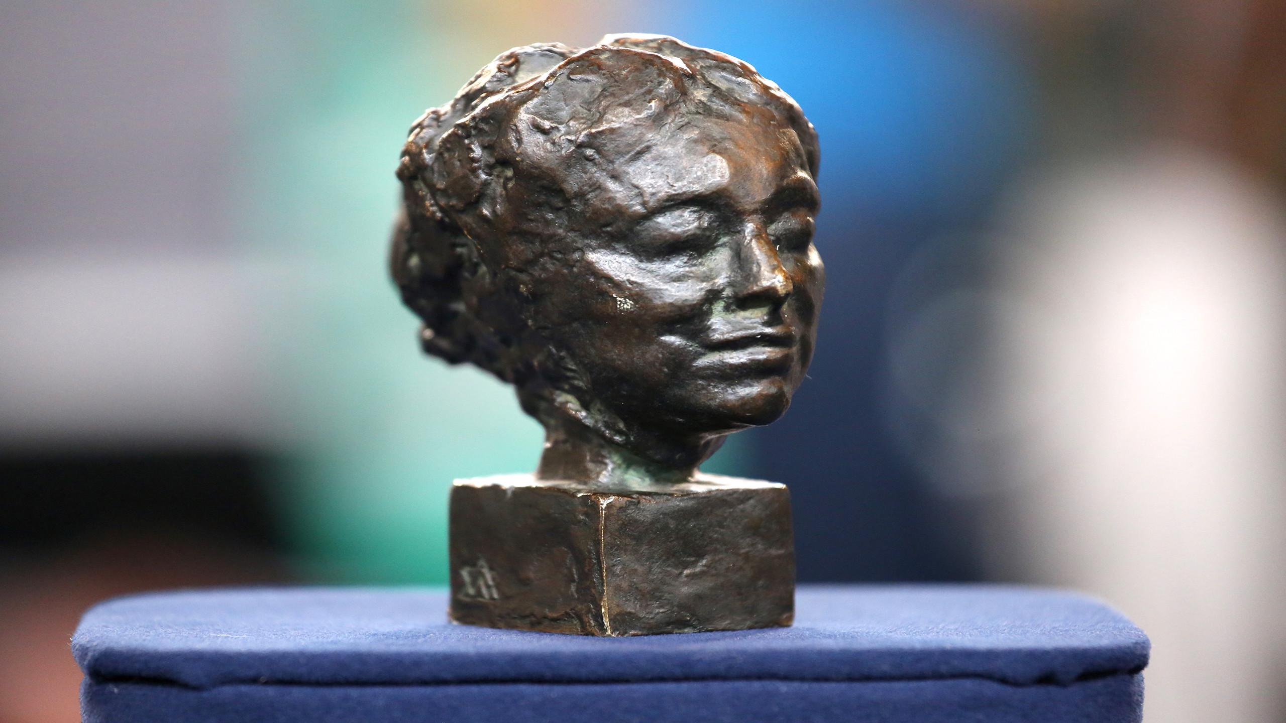 fake lady head vases of antiques roadshow appraisal antoine bourdelle bronze head ca intended for appraisal antoine bourdelle bronze head ca 1900
