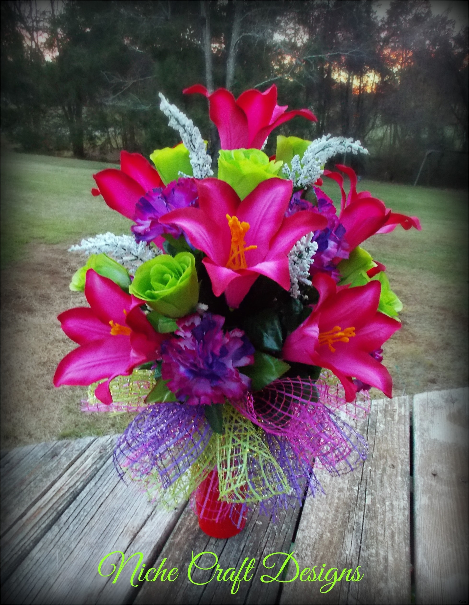 fake pink flowers in vase of cemetery decoration ideas bradshomefurnishings within vases grave flower cemetery vase informationi 0d bronze markers hole