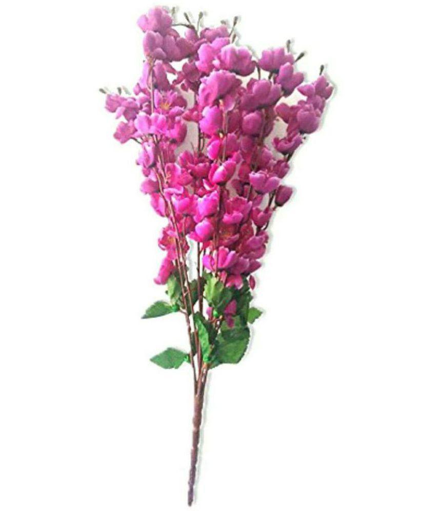 fake pink flowers in vase of soniya enterprises orchids artificial flowers bunch purple pack of inside soniya enterprises orchids artificial flowers bunch purple pack of 1