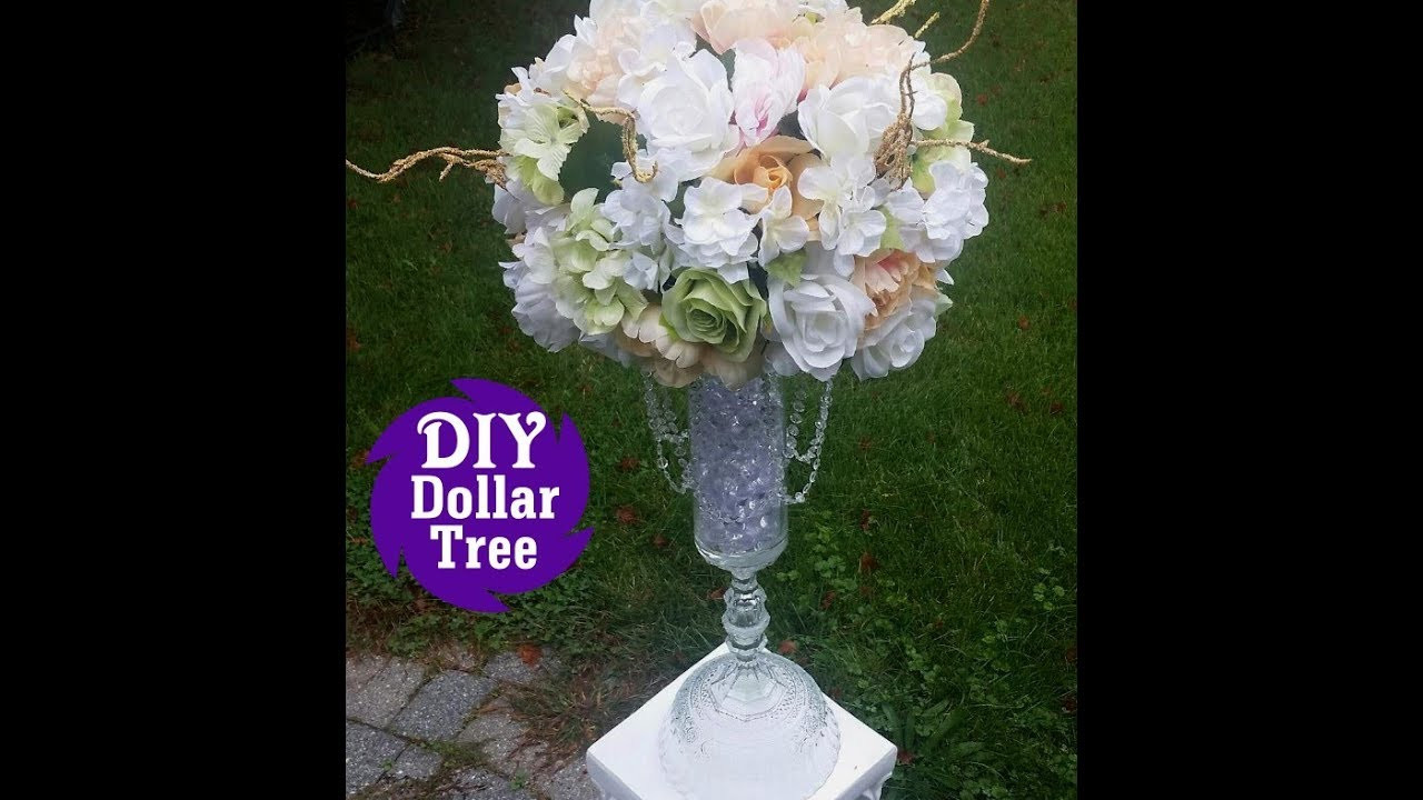 family dollar vases of dollar tree wedding vases wiring diagrams • with diy dollar tree l wedding reception table centerpiece l tall flower rh youtube com dollar tree