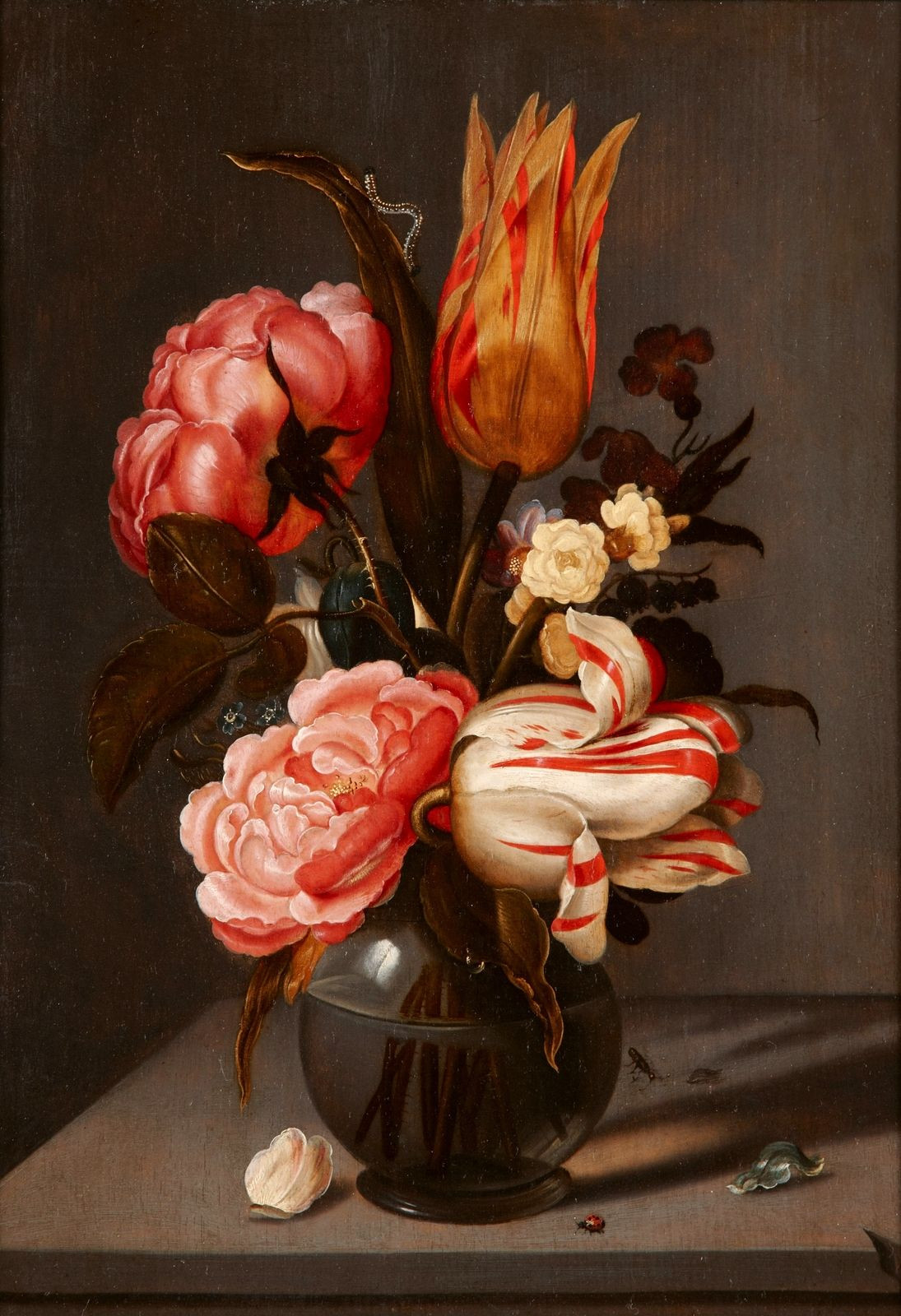 famous painting of flowers in a vase of ambrosius bosschaert the elder 1573 1621 bouquet of flowers in intended for ambrosius bosschaert the elder 1573 1621 bouquet of flowers in a