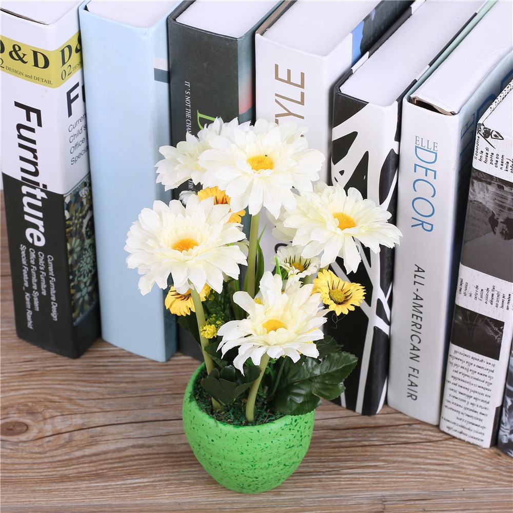faux flower arrangements in vase of silk gerbera daisy flower arrangements vase artificial african intended for silk gerbera daisy flower arrangementsvase artificial african chrysanthemum flower basket for wedding party home decorations in artificial dried flowers